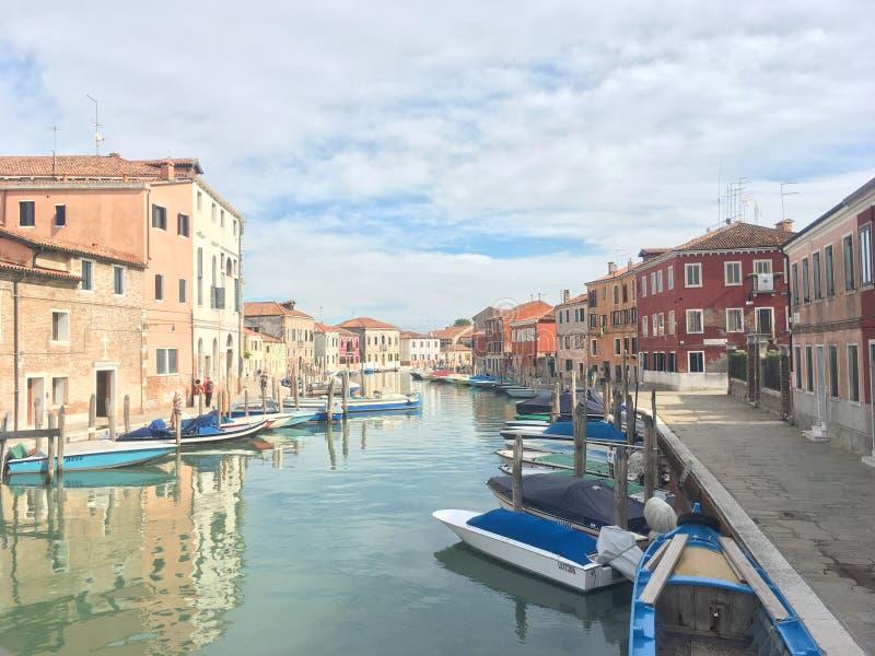 Île de Murano, Venise, Italie images libres de droits