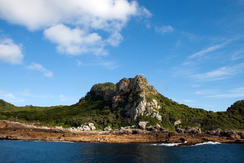 Île de mystère photographie stock libre de droits