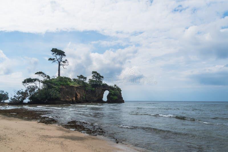 Île de Neil à l'archipel d'Andaman et de Nicobar, photographie stock