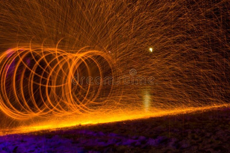 Île de oscillation de Samet de torche image libre de droits