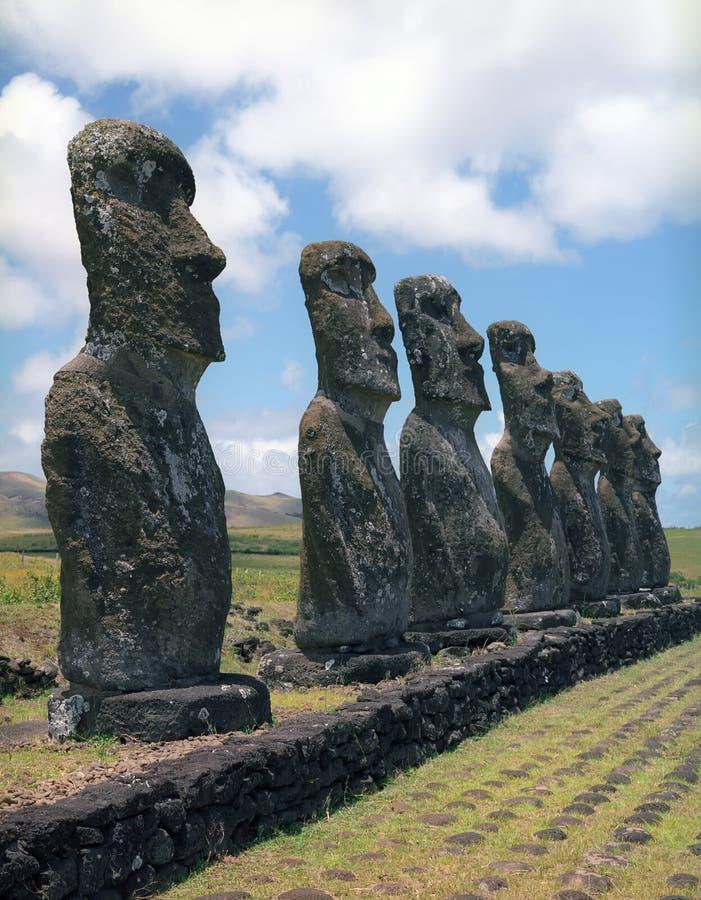 île de Pâques photographie stock libre de droits