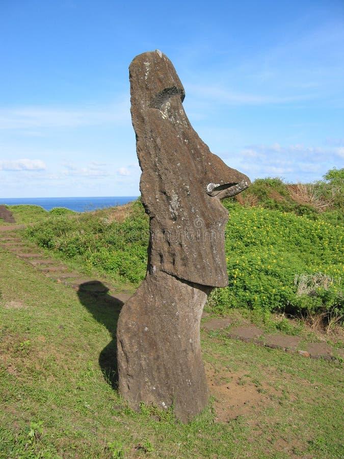 Île de Pâques image libre de droits