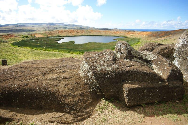 Île de Pâques photographie stock
