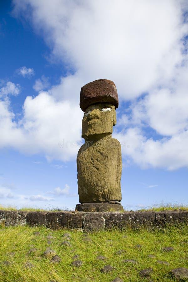 Île de Pâques de statue photographie stock libre de droits