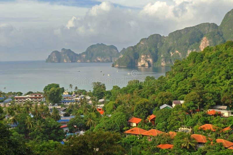 Île de phi de phi de KOH photos libres de droits