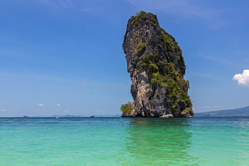 Île de Poda dans la province de Krabi photographie stock