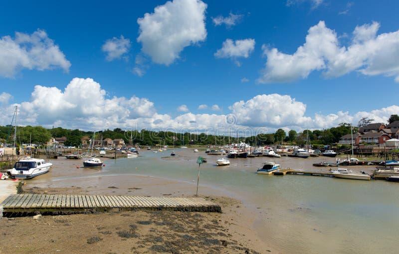 Île de pont de Wootton de Wight entre Ryde et Newport photo libre de droits