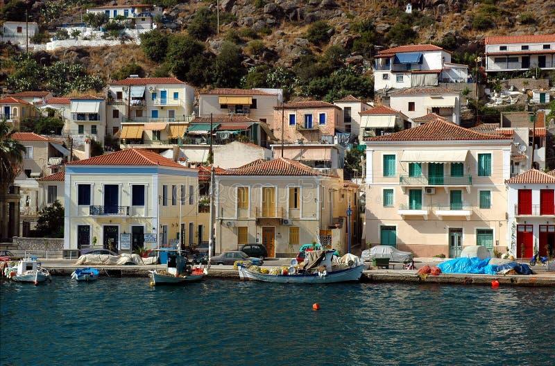 Île de Poros photo stock
