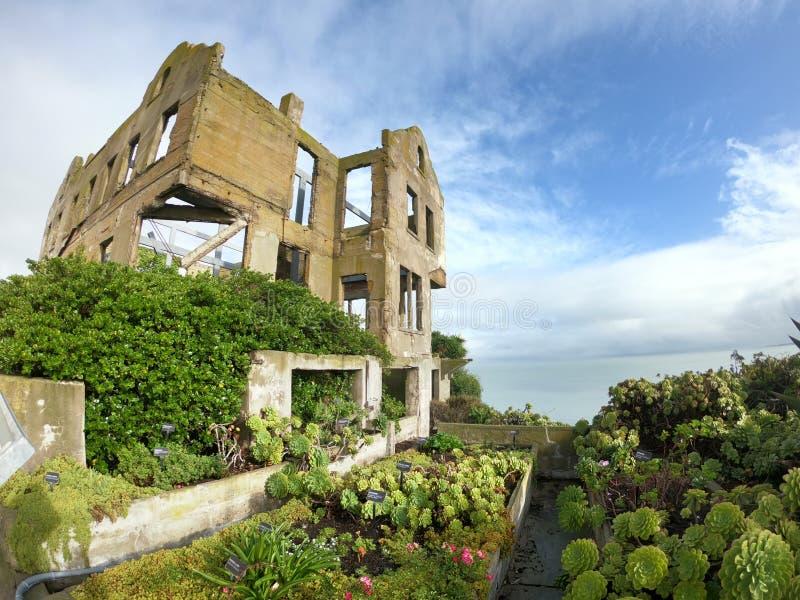 Île de prison d'Alcatraz à San Francisco photographie stock