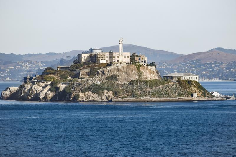 Île de prison d'Alcatraz à San Francisco, la Californie photos stock