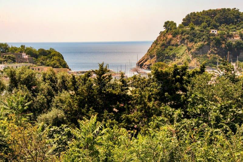 Île de Procida photo stock