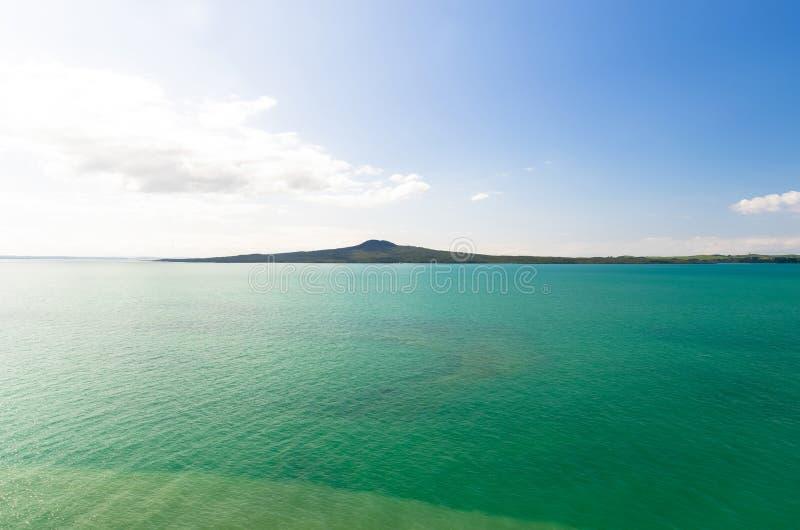 Île de Rangitoto photo stock
