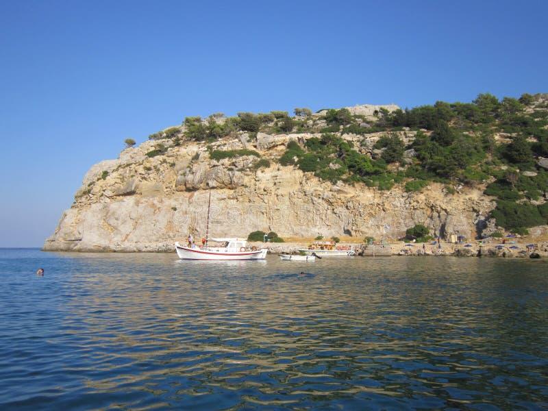 Île de Rhodes images libres de droits