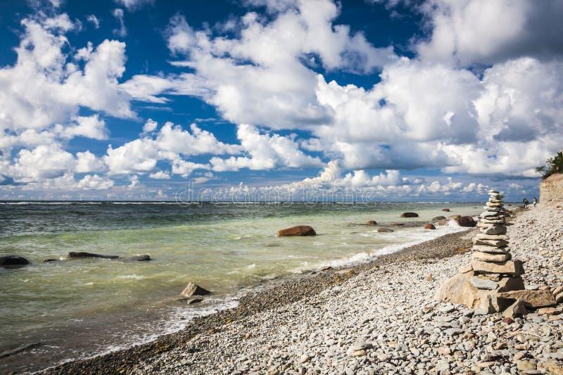 Île de Saaremaa, Estonie image libre de droits