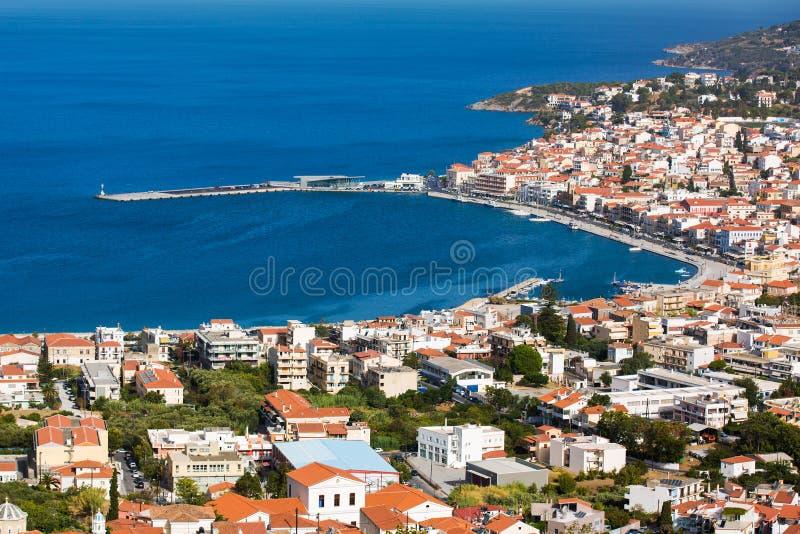 Île de Samos images libres de droits