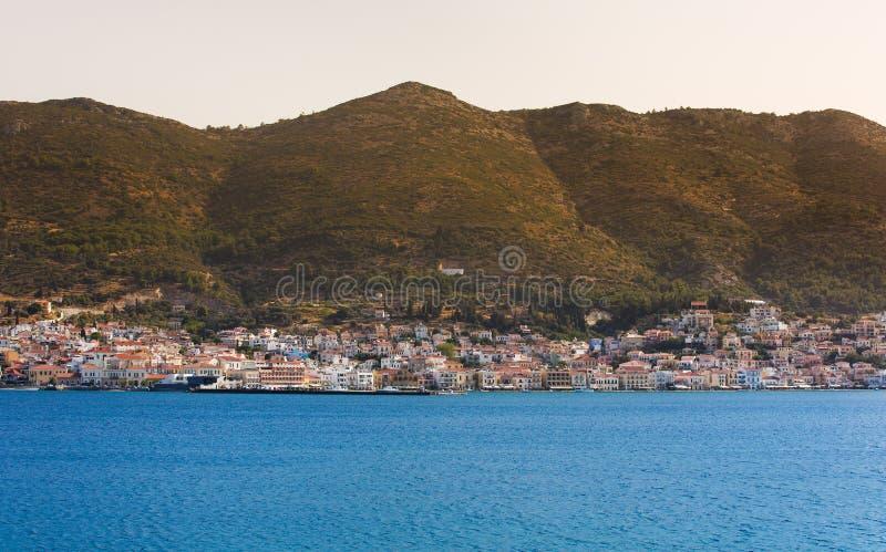 Île de Samos image libre de droits