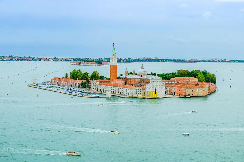 Île de San Giorgio Maggiore à Venise Italie photo stock