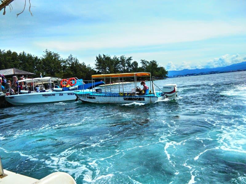 Île de Sapi, Sabah Malaysia photos stock