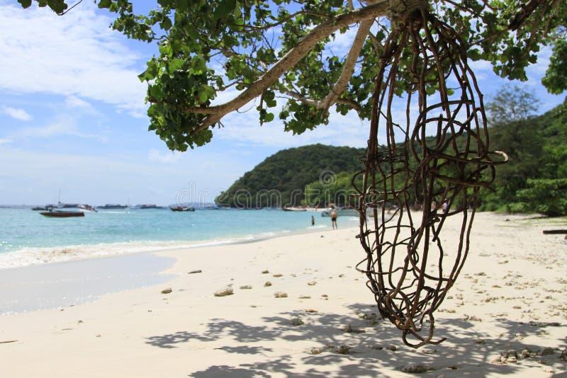 Île de seabeach de plage image stock