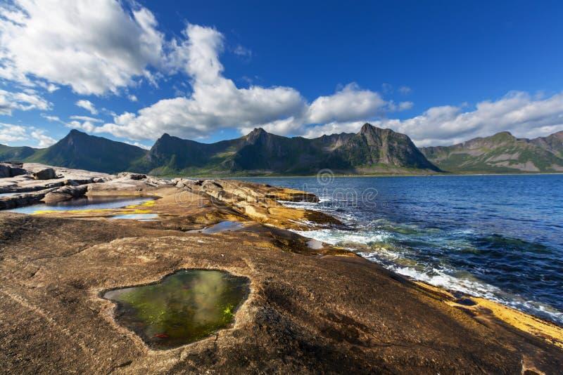 Île de Senja images libres de droits