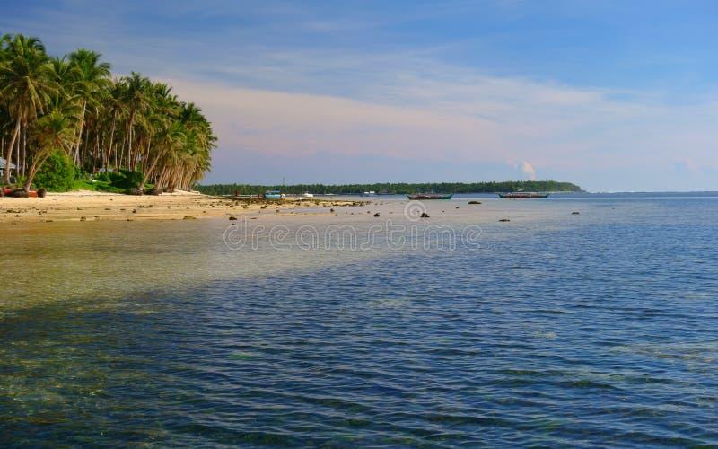 Île de Siargao images stock