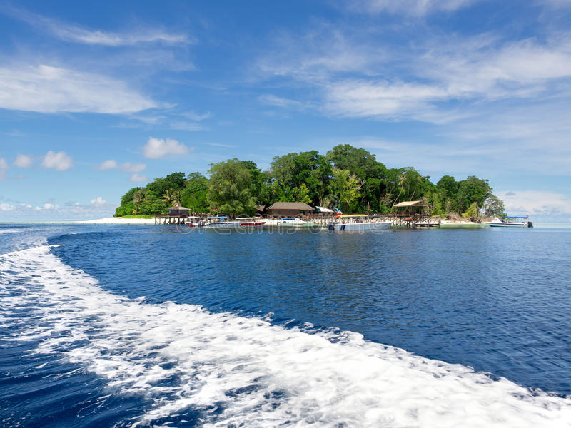 Île de Sipadan, Sabah, Malaisie images stock