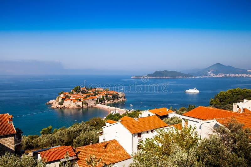 Download Île De Sveti Stefan Au Monténégro Photo stock - Image du seascape, nature: 77162784