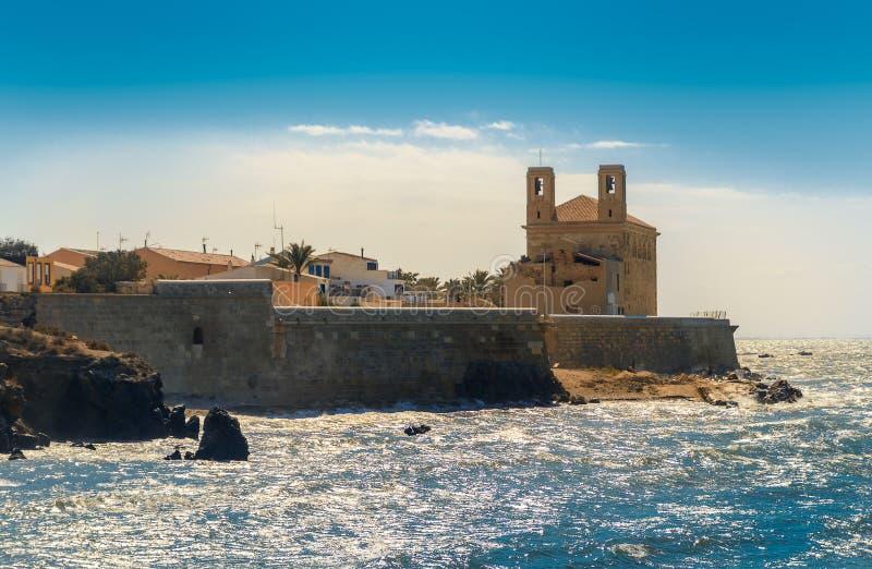 Île de Tabarca photographie stock libre de droits