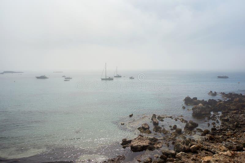 Île de Tabarca l'espagne image libre de droits