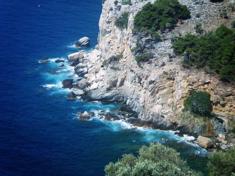 Île de Thassos, Grèce images libres de droits