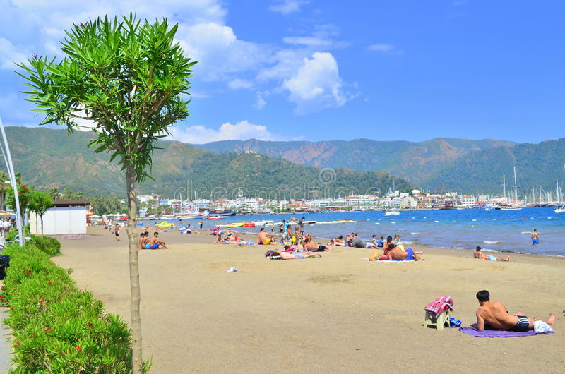 Île de Tristan Marmaris La Turquie photo stock
