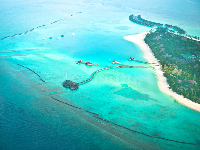 Île De Tropique De Paradis Photos stock