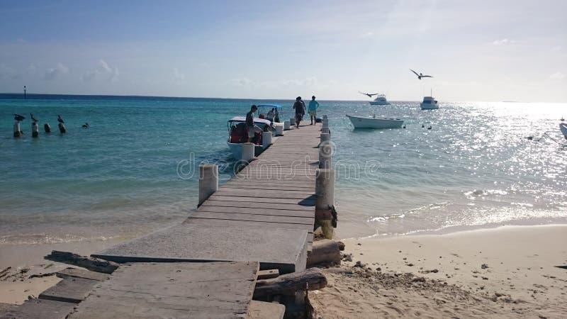 Île de visibilité directe Roques image libre de droits