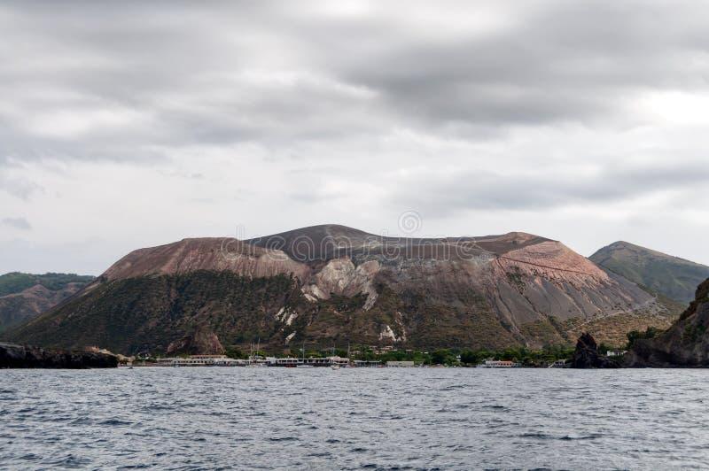 Île de Vulcano photographie stock libre de droits
