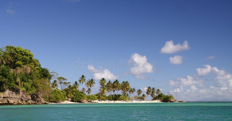 Île des Caraïbes images stock