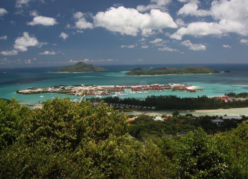 Île des Seychelles Éden photos libres de droits