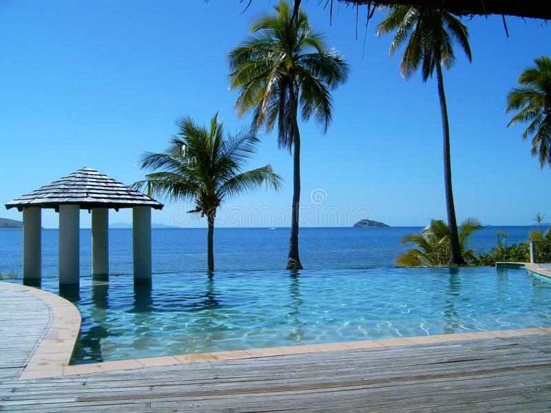 Île du Fiji Mana photos stock