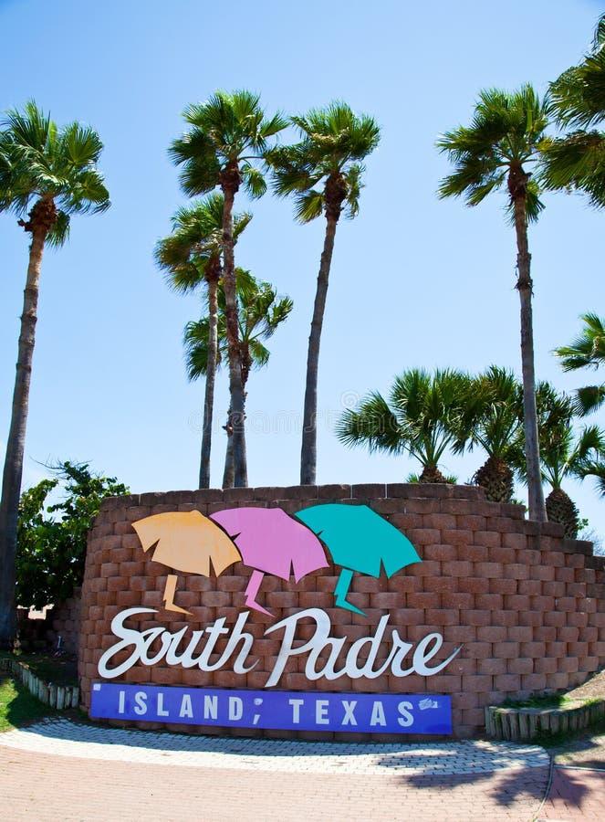 Île du sud de Padre image stock