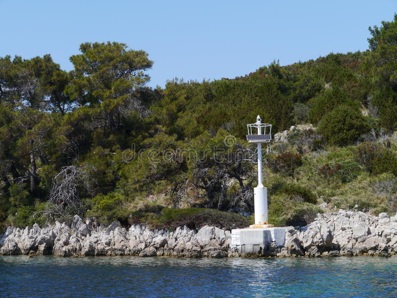 Île du SV Petar en Croatie photos libres de droits