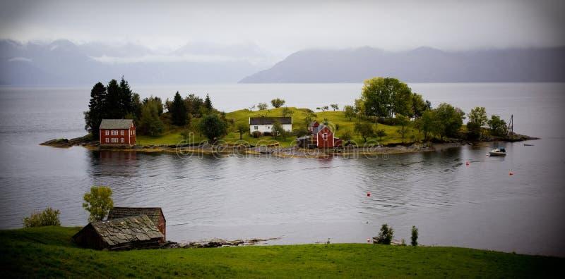 Île en Norvège photos libres de droits