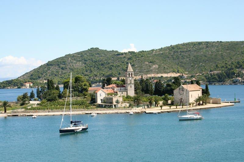 Île Force-Croatie photo libre de droits