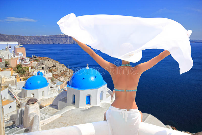 Île Grèce de Santorini photos stock