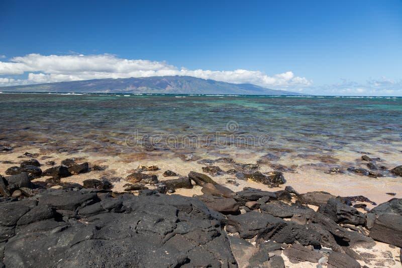 Île hawaïenne de Molokai image libre de droits