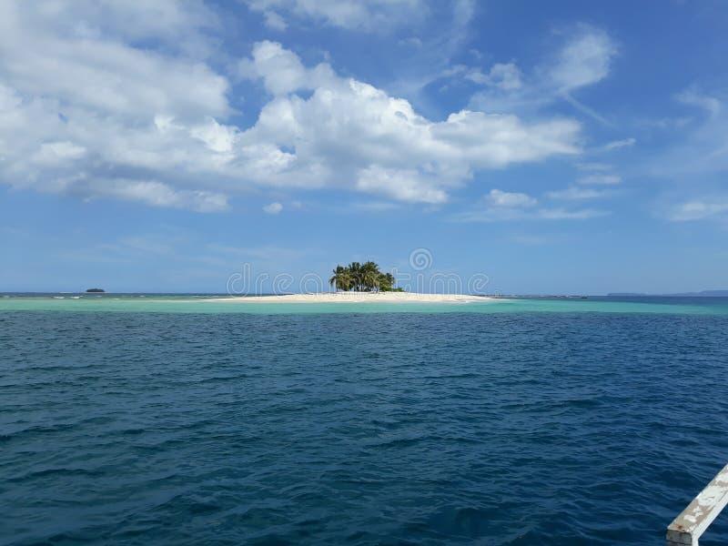 Île isolée photographie stock