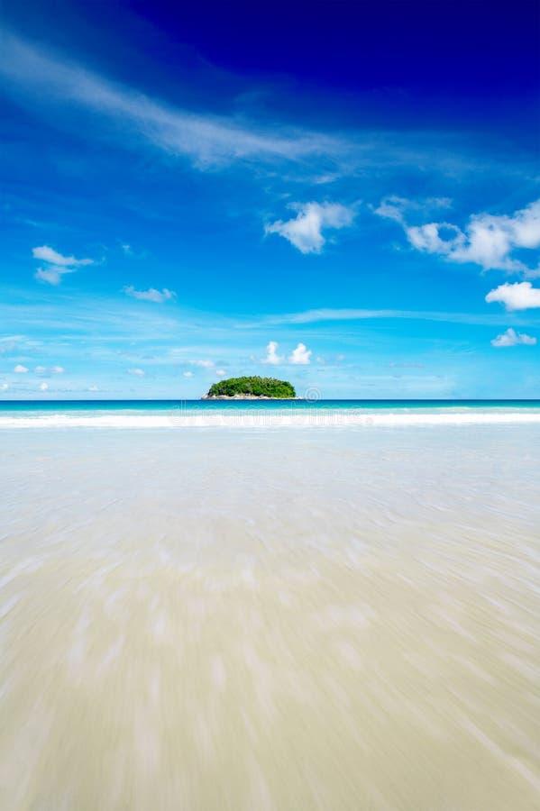 Île isolée photo libre de droits