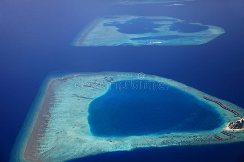 Île Maldive Giraavaru image stock