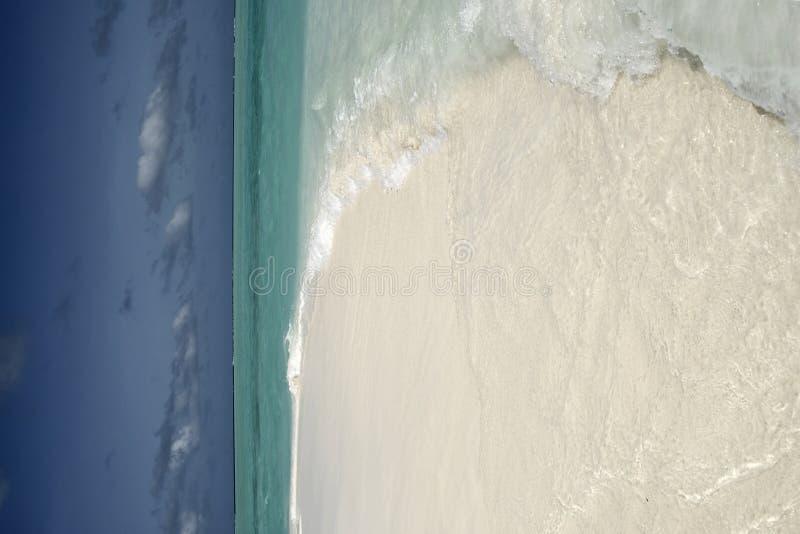 Île maldivienne photographie stock