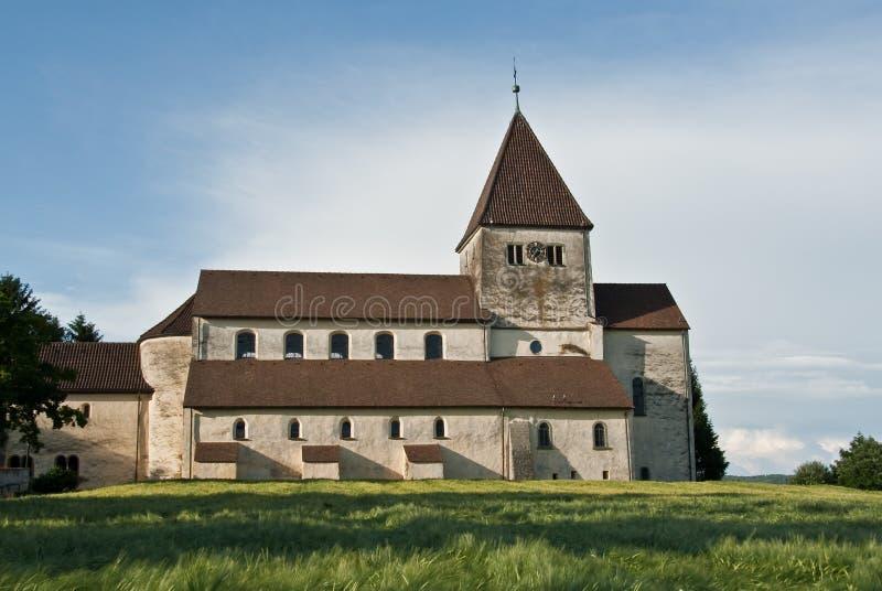 Île monastique de Reichenau image libre de droits