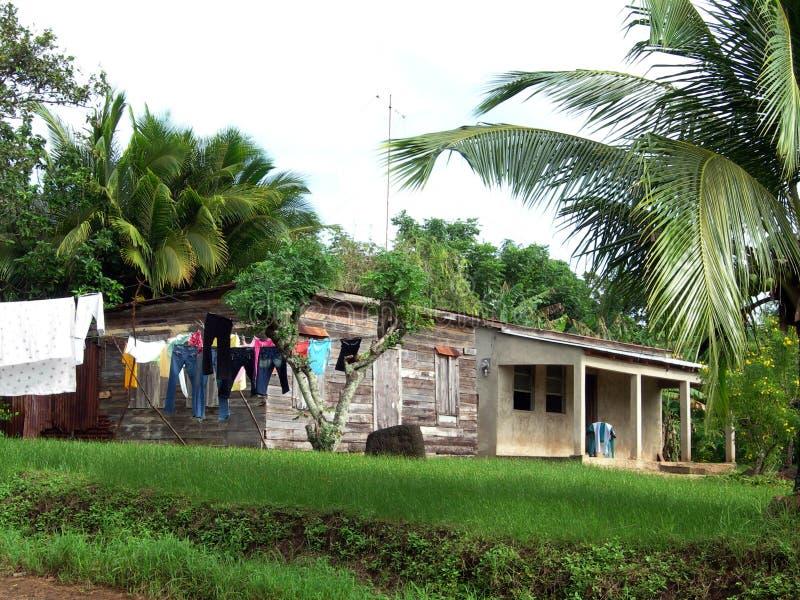 île Nicaragua de maison de maïs type images libres de droits