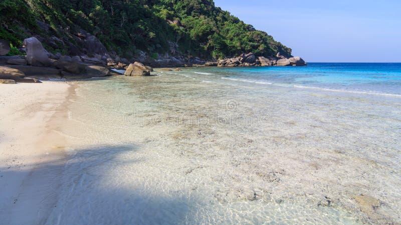 Île non habitée photos stock